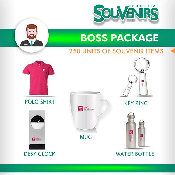 Souvenir Package – Boss