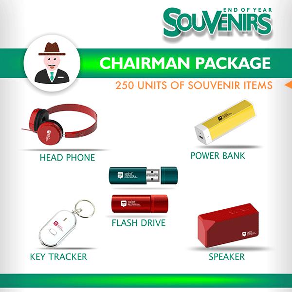 Souvenir Package – Chairman