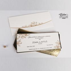 Erdem Invitation Card 50505